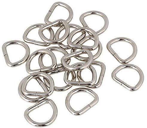 Trimming Shop Metaal D Ringen Voor Bevestiging Webbing, Kunsten en Ambachten, Huisdier Kraag, Verstelbare Reparatie Tassen