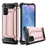 J&D Case Compatible for Samsung Galaxy A02s Case, Heavy