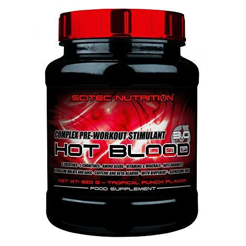 SCITEC Nutrition Hot Blood 3.0 - 820 gr Naranja