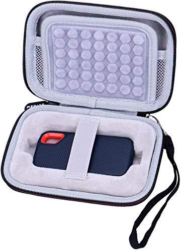 LTGEM Eva Hard Case Hülle Tasche für SanDisk Extreme Portable SSD 250GB 500GB 1TB 2TB Festplatte
