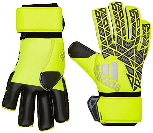 adidas Unisex Ace League Torwarthandschuhe, solar yellow/black/onix, 10.5, AP6991