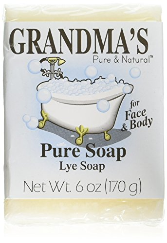 Grandmas Lye Soap by EasyComforts,6oz by EasyComforts