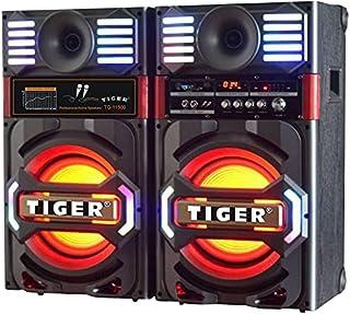 Tiger Subwoofer 11500 USB/SD/RBluetooth10 inch/FM/ Digital screen/ LED