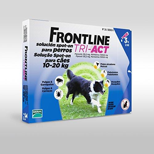 Frontline Tri-Act 6 Fialette Tra 10 e 20 KG