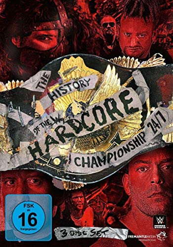 WWE - The History of the Hardcore Championship [3 DVDs]
