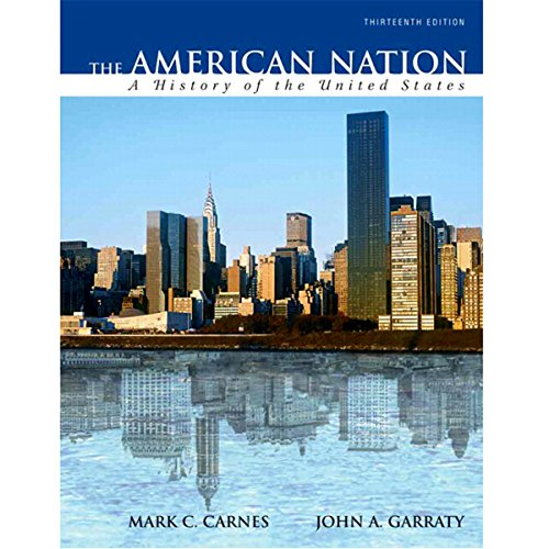 VangoNotes for The American Nation, 13/e cover art