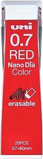 Uni Mechanical Pencil Lead Nano Dia Color 0.7mm, Red(U07202NDC.15)
