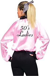 Satin Lady Pink 50s Jacket for Women