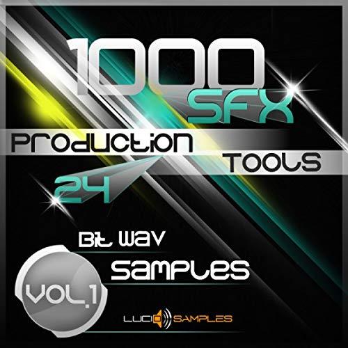 1000 SFX Production Tools Vol.1, Efectos de sonido comerciales   WAV Files (24Bit) Download