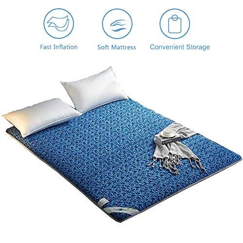 Affordable Tatami Mat Sleeping Pad, Futon Mattress Topper, Japanese Foldable Floor Futon Mattress, S...