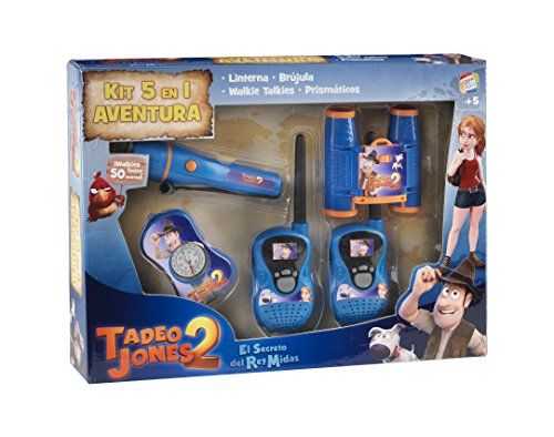 Tadeo Jones Kit 5 en 1 set de exploracion (Cefa Toys 04612)