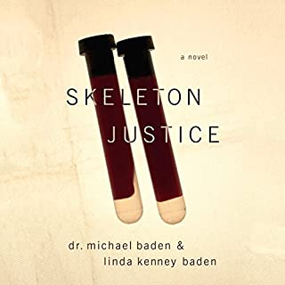 Skeleton Justice audiobook cover art