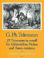 TELEMANN - Trio Sonata en La menor (TWV:42/a 1) para Flauta de Pico Alto, Violin y BC