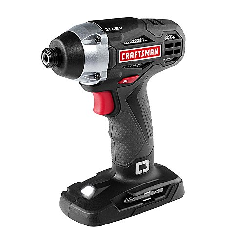 Craftsman C3 19.2 Volt 1/4 Inch Impact Driver Model 5727.1 (Newest Version) (Bare Tool, No Battery or Charger Included)