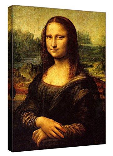 Eliteart-Mona Lisa by Leonardo Davinci Oil Painting Reproduction Giclee Wall Art Canvas Prints