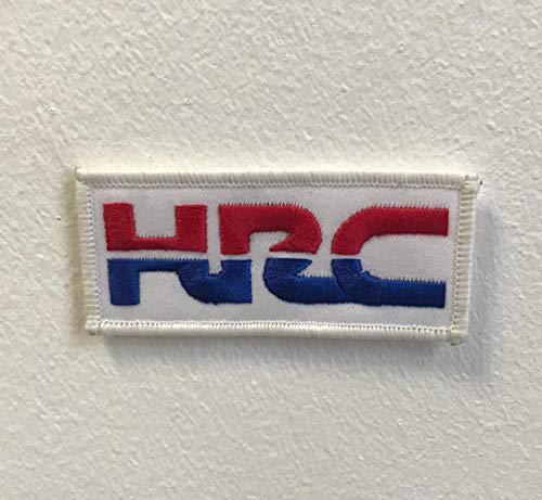 Parche bordado para coser o planchar HRC Honda Sports