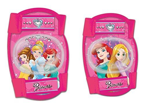 Disney Kinder Elbow Knee Protectors Princess Sports, Mehrfarbig, S