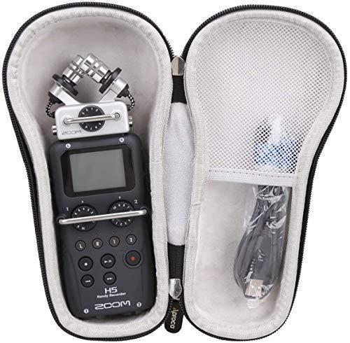 Aproca Duro Viajes Funda Bolso Caso para Zoom H5 Grabador de voz