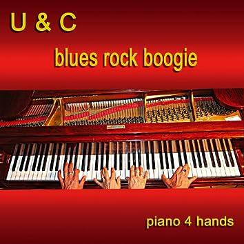 Blues Rock Boogie - Piano 4 Hands