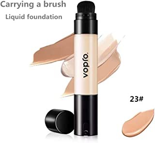 Corrector BB Cream crema hidratante de larga duración aclara el tono de la piel base líquida impermeable (23#)