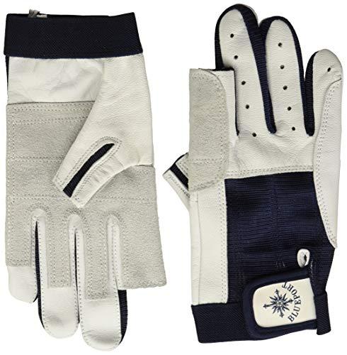 BluePort Rękawice żeglarskie ze skóry – 2 palce bez użycia palców XXS