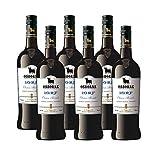 Vino Oloroso Medium Osborne 10 RF de 75 cl - D.O. Jerez - Bodegas Osborne (Pack de 6 botellas)