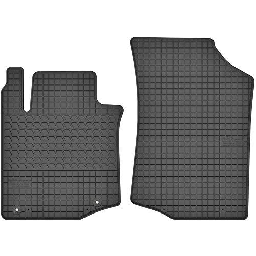 AGCPdirect Gummi Matten Fußmatten Passgenau Vorne Set für Citroen C1 2005-2014 und Peugeot 107 2005-2014 und Toyota Aygo 2005-2014