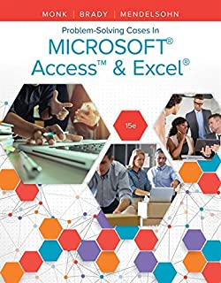 Problem Solving Cases In Microsoft Access & Excel