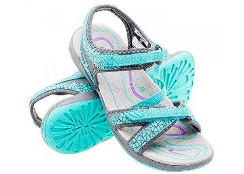 MADAKA - Sandalias de verano planas para mujer, sandalias de trekking
