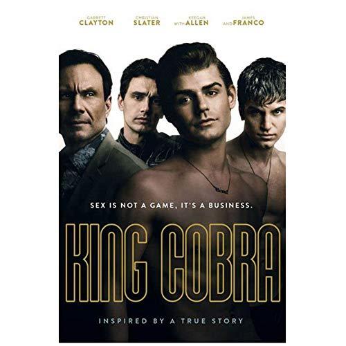 sjkkad Film King Cobra Kunstdruck Poster Home Wanddekoration Druck auf Leinwand Home Wohnzimmer Schlafzimmer Dekoration -50X70Cm No Frame