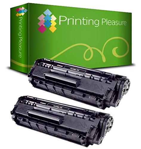 2pz x 303 703 Toner Compatibile Nero per Canon LBP-2900, LBP-2900i, LBP-2900B, LBP-3000