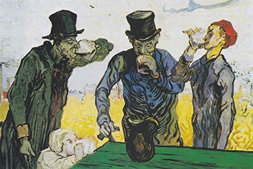 // TPCK // Póster de Vincent Van Gogh – The Beinkers After Daumier (1890) – Impresión artística de regalo – Willem Dutch – Tamaño A2 (42 x 59,4 cm)