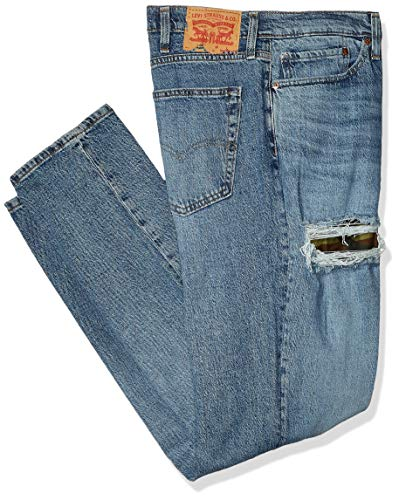 Levi's Men's Big and Tall 541 Athletic Fit Jean, Blue Comet Camo Repair, 42W x 34L