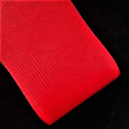 3 Inch Polyester Horsehair Braid Selling per Roll/ 22 Yards 16 Different (Red)