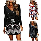 Womens Batwing Sleeve Little Summer Dress with Sleeves...