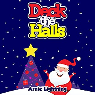 Deck the Halls: Christmas Stories and Funny Jokes for Kids cover art