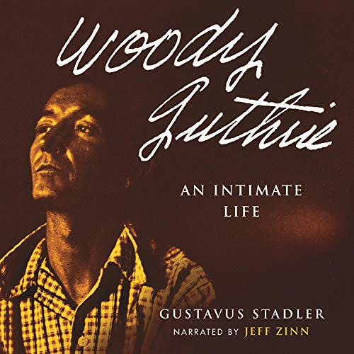 Woody Guthrie audiobook cover art