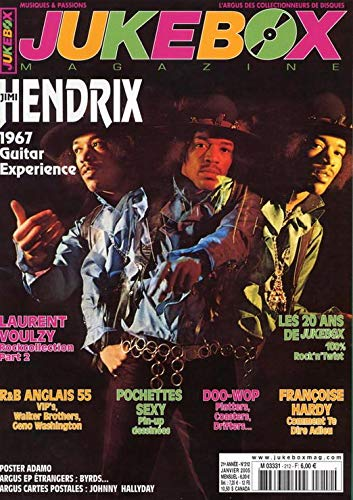 Jimi Hendrix 1967 guitar experience - Laurent Voulzy - Pochettes disques Sexy pin-up dessinées - Françoise Hardy - Argus cartes postales Johnny Hallyday,etc