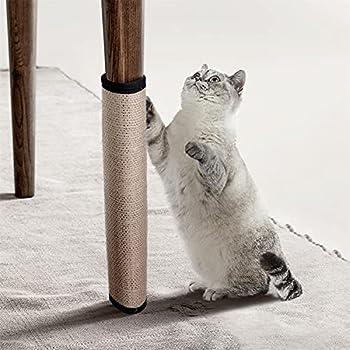 Nobleza - Tapis Griffoir Chat, Grattoir Chat, Protection Canapé Meuble Sol Mur, Sisal Naturel Griffoir pour Chat 40x30cm