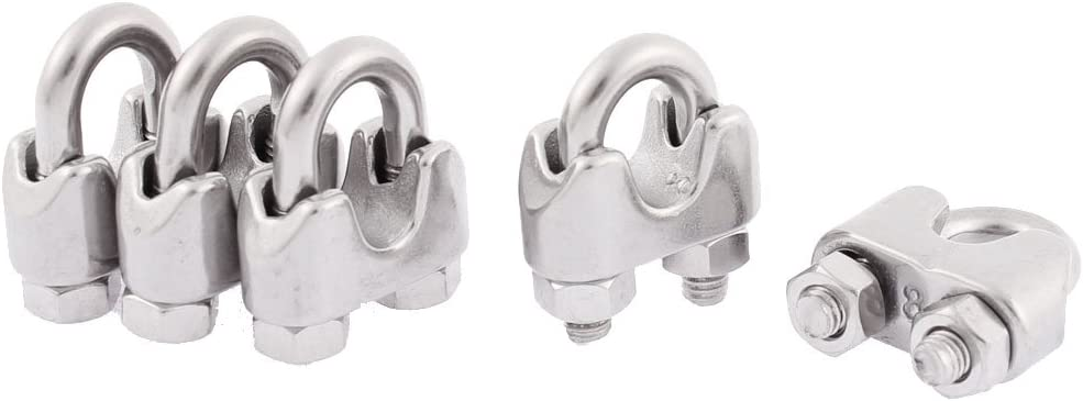 Aexit Seattle Mall M8 Stainless Fall Protection Minneapolis Mall Wire Silver Steel Clips Rope