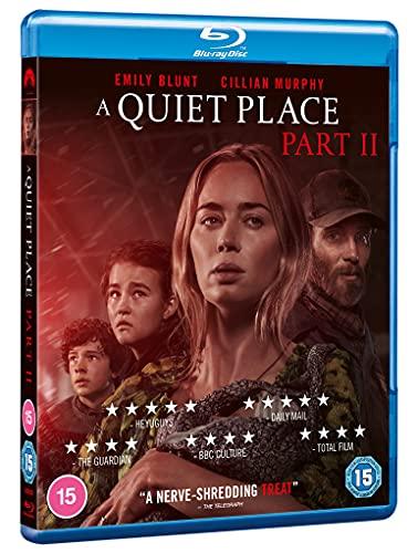 A Quiet Place Part II [Blu-ray] [2021] [Region A & B & C]