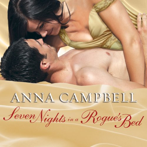 Seven Nights in a Rogue's Bed audiobook cover art