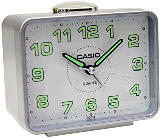 Casio TQ-218-8DF Alarm Clock, Grey