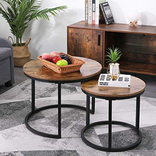 KOTPOP Industrial Nesting Coffee Table