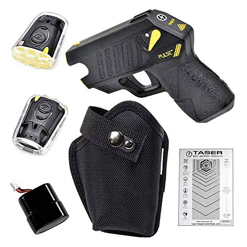 Axon TASER Pulse Specialized with Laser-Guided Gun, Concealment Holster, Cartridges, Lithium...