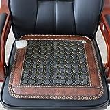 ヒーティングシートクッション-ヒスイヒーティングシートクッション、インテリジェント温度制御、疲労を和らげ、血液循環を促進する機能があり、ソファー/椅子などに適しています。