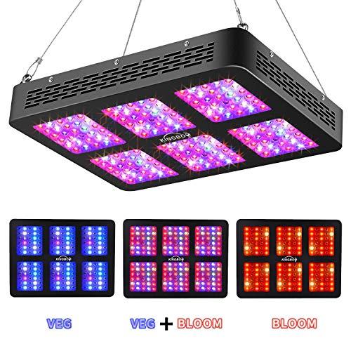 KINGBO Dual Optical Lens-Series 900W LED Grow...