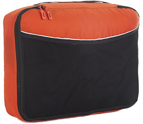 Bago Imballaggio Sacchetti Cubes Viaggi Organizzatore - unico Media Con Protector Arancione