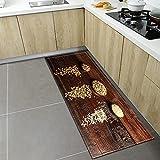 OPLJ Alfombrilla Antideslizante de Cocina para el hogar, Alfombrilla para Puerta de Entrada para...