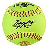 "Dudley 12"" USASB Thunder Heat Fastpitch Softball - 12 Pack"